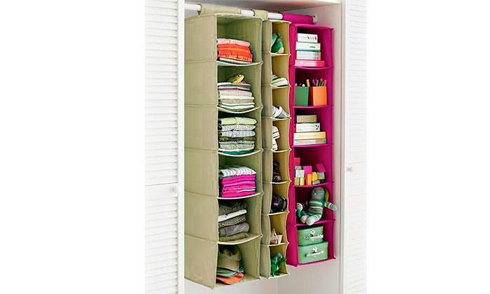 Organizador de ropa y calzado groupon goods - Organizador armario ...