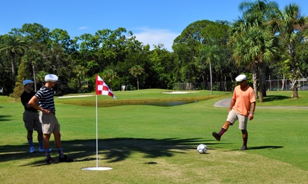 $35 for an 18-Hole Round of FootGolf for Four with Pitcher of Beer at Largo Golf Course ($70 Value)
