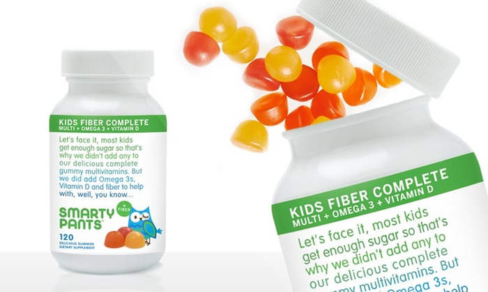 SmartyPants Gummy Vitamins for Kids: $23.99 for 120-Count Bottle of SmartyPants Gummy Vitamins: Kids Fiber Complete ($29.95 List Price). Free Shipping.