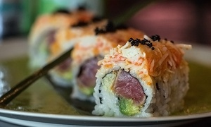 Akita Japanese Steakhouse and Sushi: $25 for $40 Worth of Sushi and Asian Cuisine at Akita Japanese Steakhouse and Sushi