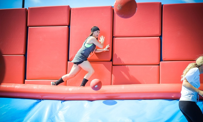 Hit and Run 5K - South San Jose: Hit and Run 5K Obstacle-Course Entry for One or Two on Saturday, March 15, at 9 a.m. (Up to 48% Off)