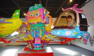 Play Package And Pizza For Two Or Four Kids And Parents At Funtime Junction (up To 62% Off)