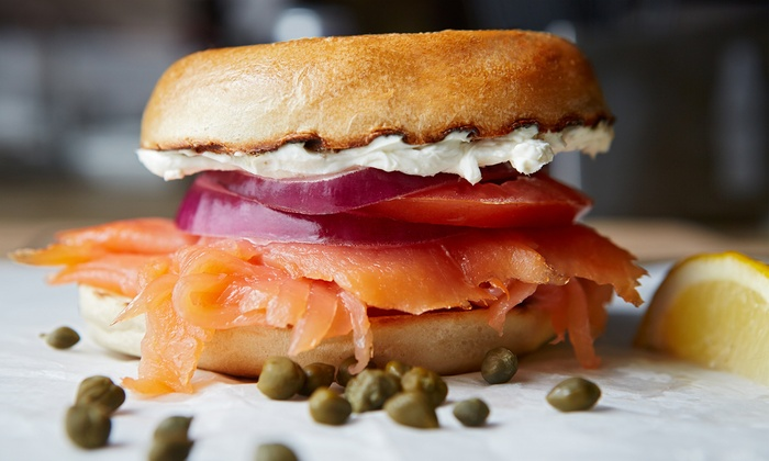 Goldberg's New York Bagels - Multiple Locations: Bagels, Spreads, and More at Goldberg's New York Bagels (Up to 42% Off). Two Options Available.