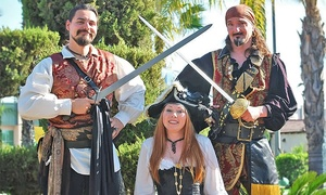 Blackbeard's Family Entertainment: $15 for Mini Golf, Rides, and Games for Two at Blackbeard's Family Entertainment (Up to $53.25 Value)
