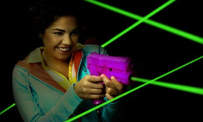 Party Time Palace - Des Plaines: Day of Unlimited Play with Game of Laser Tag for Two, Four, or Six at Party Time Palace (Half Off)