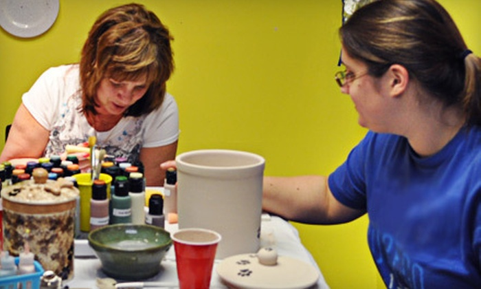 The Studio for Art and Craft - Cobleskill: Paint-Your-Own Pottery or Glass-Fusing Class for Two at The Studio for Art and Craft in Cobleskill (Up to Half Off)
