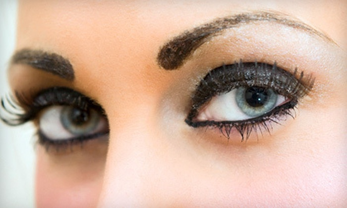 The Ibrow Studio - Brentwood: Eyelash Extensions with Option of Fill at The Ibrow Studio in Edmond (Up to 57% Off)