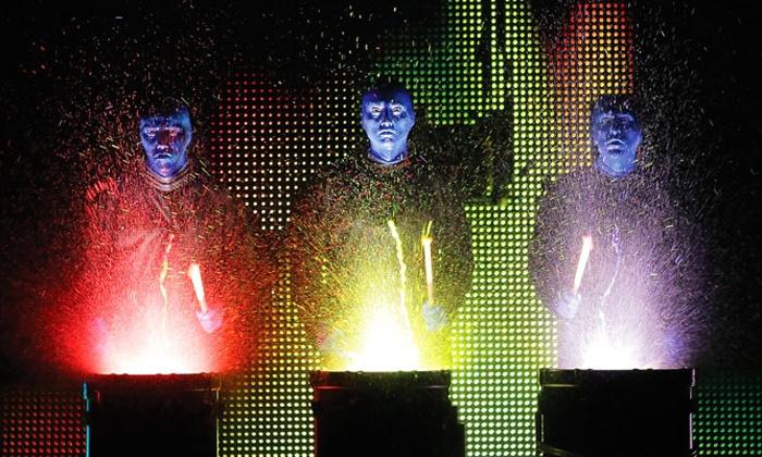 Blue Man Group - Hamilton Place Theatre: Blue Man Group at Hamilton Place Theatre on March 16–17 (Up to 40% Off)
