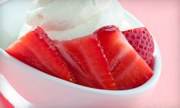Brazzleberry - Half Moon Bay: 5 or 10 Servings of Frozen Yogurt and Ice Cream or Catered Party for Up to 30 from BrazzleBerry (Up to 60% Off)