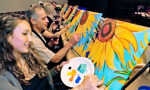 Painting Ticket for One or Two People at Painting & Vino (Up to 59% Off)