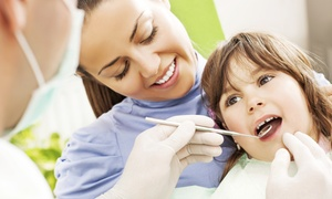 Oakdale Kids Dentist and Orthodontics: One or Two Kids' Dental Exams, X-rays, and Cleanings at Oakdale Kids Dentist and Orthodontics (Up to 86% Off)