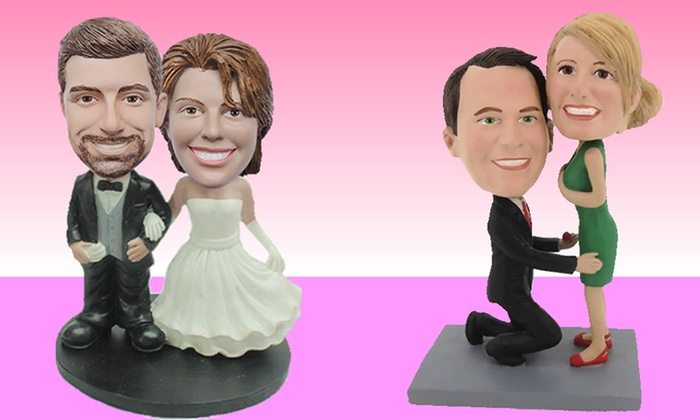 BigBobble.com: One or Two Custom Bobbleheads with Premade Bodies, or a Full Custom Bobblehead from BigBobble.com (Up to 49% Off)