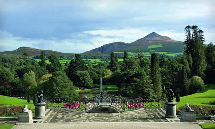 5-star Powerscourt Hotel Vacation with Round-Trip Airfare - University District: Seven-Day Ireland Vacation with Round-Trip Airfare and Rental Car from Great Value Vacations