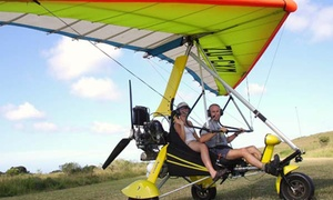 Sky Riders: 20-Minute Microlight Adventure Flight for One for R429 with Sky Riders