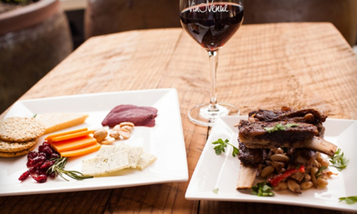 Vino Venue - Atlanta-Georgetown Shoppping Center: $29 for a Meal for Two with a Bottle of Wine, Cheese Platter, and Small Plate at Vino Venue (Up to $62 Value)