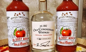 7 Troughs Distilling Co.: Private Tasting Packages for Two or Four at 7 Troughs Distilling Co. (Up to 49% Off)