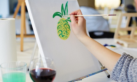 BYOB Painting Class for One, Two, or Four Adults at Glar-Art Studios (Up to 45% Off)