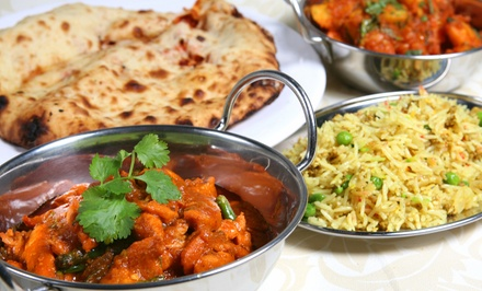 $12 for $20 Worth of Indian Cuisine for Takeout or Indian Meal for Two or Four at Blue Lotus