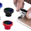 Acesori 5 Piece Smartphone Camera Lens Kit w/ Cleaning Cloth & Pouch