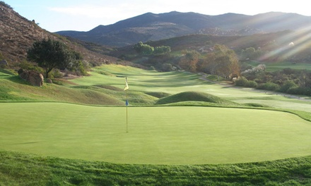 18-Hole Round of Golf for Two or Four Including Cart Rental at Steele Canyon Golf Club (Up to 66% Off)