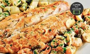Restaurante IL Faro: Restaurante Il Faro – Guarujá: almoço ou jantar com prato principal para 2 pessoas