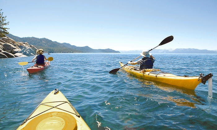Beach Town Tours - Beach Town Tours: Sunset or Moonlight Kayak Tour for Two, or Kayak Tour for Two, Four, or Six from Beach Town Tours (Up to 63% Off)