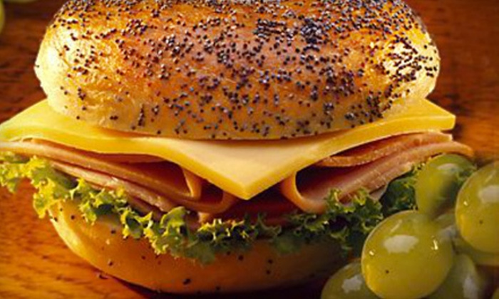 Sam I Am Bagels - Totowa: Five Sandwiches or Catering for Up to 20 at Sam I Am Bagels (Up to 61% Off)