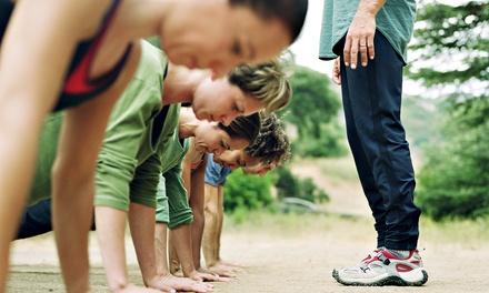 One or Three Months of Boot-Camp Classes at American Fitness Boot Camps (78% Off)