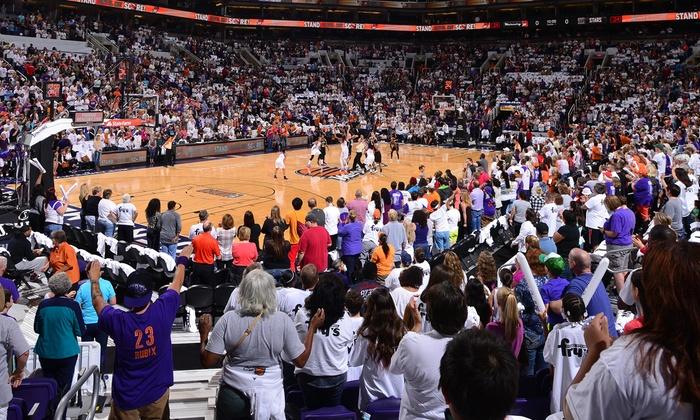 Western Conference Semi-Final Game 1: Phoenix Mercury vs. Tulsa Shock   - Talking Stick Resort Arena: Phoenix Mercury WNBA Playoff Basketball Game on September 17 at 7 p.m.