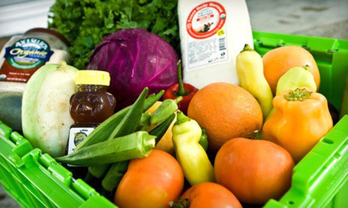 Greenling - Allen: $25 for $50 Worth of Organic, Local, and Sustainable Groceries with Free Delivery from Greenling