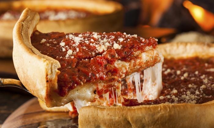 Giustino's Pizzeria - North Broadway: $7 for $12 Worth of Pizza — Giustino's Pizzeria Restaurant