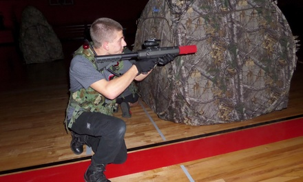 $50 for $100 Worth of Laser Tag  Anywhere Laser Tag