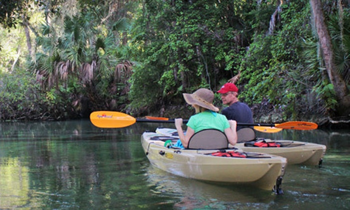Expedition Florida Adventures - DeBary-Orange City: River Kayak Tour for Two or Four from Expedition Florida Adventures in Orange City (Up to 53% Off)