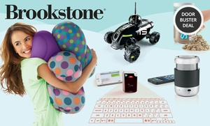 $25 For $50 Worth Of Unique Holiday Gifts And Other Innovative Products From Brookstone. Valid Online And In-store.���