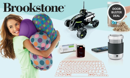 Brookstone — $25 for $50 Worth of Merchandise In-Store or Online