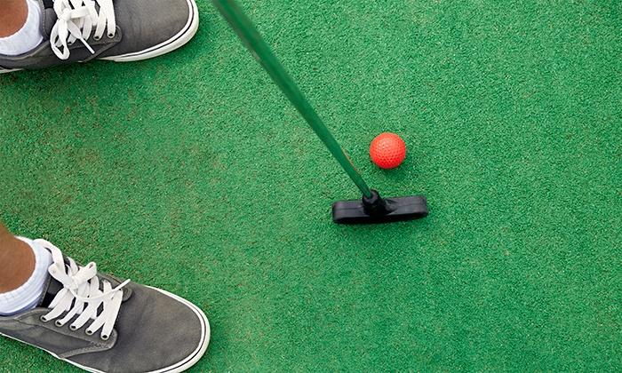 Geneva Park District - Stone Creek Miniature Golf: Mini-Golf for Two, Four, or Six at Geneva Park District's Stone Creek Miniature Golf (50% Off)
