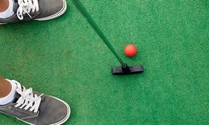 Bounce Away FunPlex & Mini Golf: Round of Mini Golf for Two, Four, or Six at Bounce Away FunPlex & Mini Golf (Up to 50% Off)