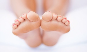 Medi Massage: One, Three, or Six Ionic Foot-Bath Cleanses with Foot-and-Calf Massages at Medi Massage (Up to 59% Off)