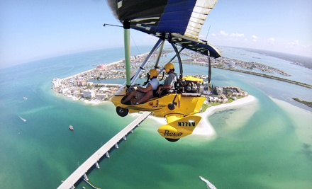 $129 for a Hands-On Scenic Intro Flight from Sky Surfing Aviation ($260 Value)