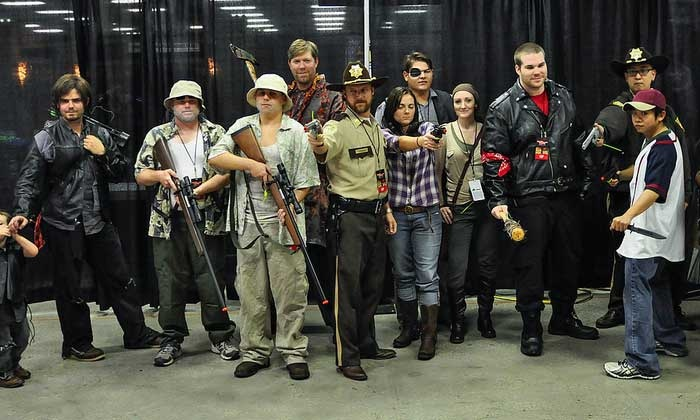 Walker Stalker Con 2014 - Atlanta Convention Center at AmericasMart: Walker Stalker Con 2014 at The Atlanta Convention Center at AmericasMart on October 17 or 19 (Up to 50% Off)