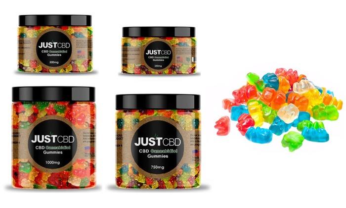 CBD Gummy Bears from Just CBD | Groupon