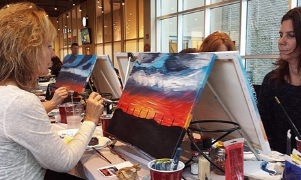 Painting Class for One, Two, or Four at Artists Uncork'd (Up to 54% Off)