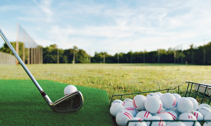 All Golf Center - Pembroke Pines: Round of Mini Golf with Driving-Range Balls and Ice Cream or Drinks for Two or Four at All Golf Center (Up to 51% Off)