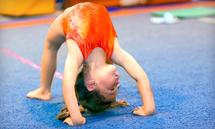 360 Gymnastics - United Industrial Park: Two Months of Kids' Classes at 360 Gymnastics (Half Off). 10 Options Available.