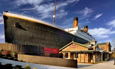 Visit for Two Adults or Two Adults and Two Children to Titanic Pigeon Forge (Up to 38% Off)