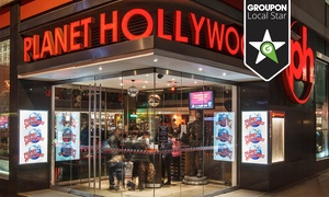Planet Hollywood: Planet Hollywood Experience for Two, Four, or Six People (Up to 56% Off)