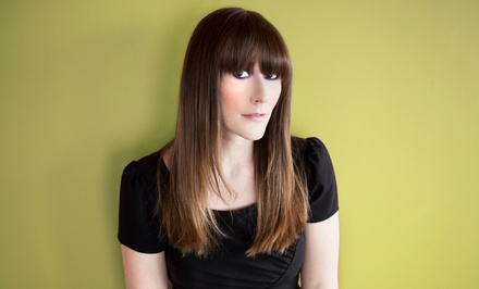 Brazilian Blowout or Haircut Package from Kristen & Jaycie at Gossip Hair Salon (Up to 56% Off)