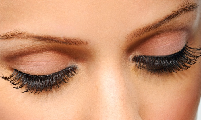 Her Eyes, The Eye Candy Bar  - Glendora: Full Natural or Extreme Set of Eyelash Extensions, or Eyelash Perm and Tint at Her Eyes (Up to 46% Off)