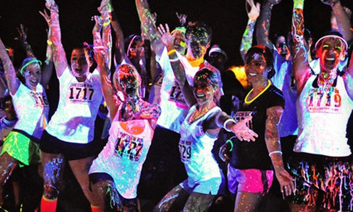 Neon Splash Dash - Astrodome: $25 for Entry in 5K Race from Neon Splash Dash on Saturday, March 23 ($50 Value)