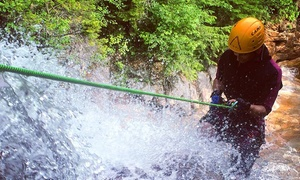 Northeast Mountaineering: Waterfall Rappelling Adventure from Northeast Mountaineering (Up to 63% Off). Four Options Available.